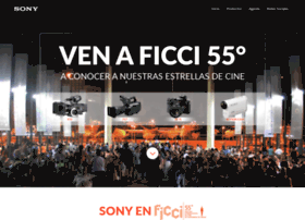 sonyenficci55.sonypro-latin.com