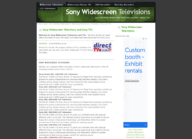 sonytvs.widescreentelevisions.co.uk