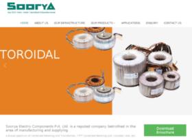 sooryaelectrocomponents.com