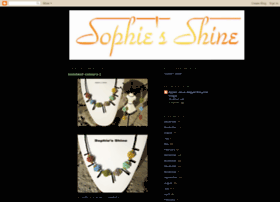 sophiesshine.blogspot.com