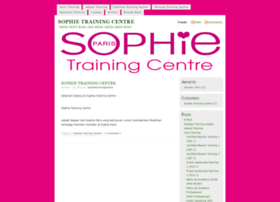sophietrainingcentre.wordpress.com