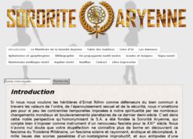 sororite-aryenne.com