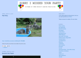 sorryimissedyourparty.com