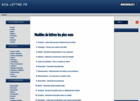 sos-lettre.fr