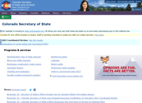 sos.state.co.us