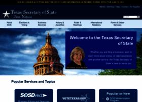 sos.state.tx.us