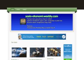 sosio-ekonomi.weebly.com