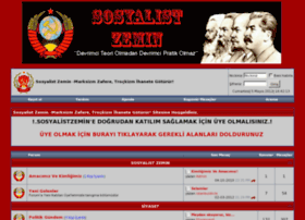 sosyalistzemin.com