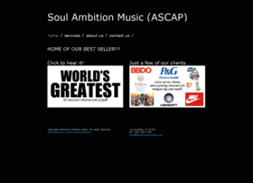 soulambitionmusic.com