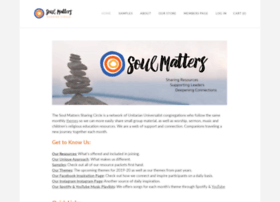 soulmatterssharingcircle.com
