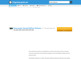 sound-editor-deluxe.programas-gratis.net