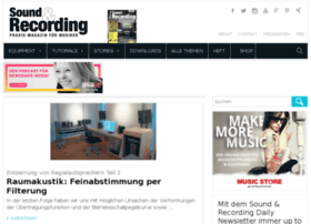 soundandrecording.musikmachen.de