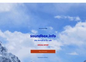 soundbox.info