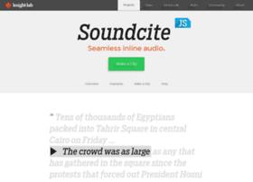 soundcite.knightlab.com