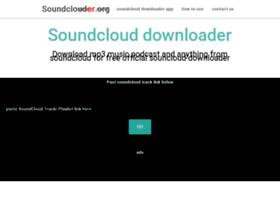 soundclouder.org