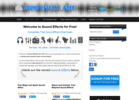 Soundeffectsforfree.com