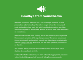 soundgecko.com