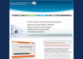 soundrecorderpro.com
