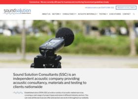 soundsolutionconsultants.co.uk