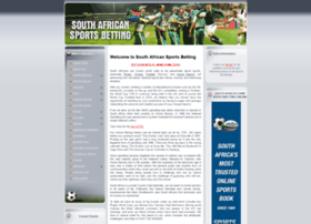 southafricansportsbetting.com