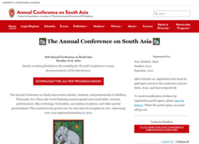 southasiaconference.wisc.edu