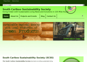 southcariboosustainability.com