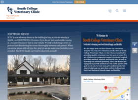southcollegevet.com