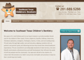 southeasttexaschildrensdentistry.com