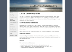 southerncemeteries.org