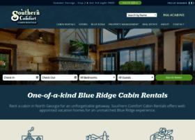 southerncomfortcabinrentals.com