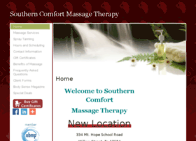 southerncomfortmassagetherapy.massagetherapy.com