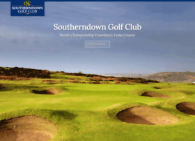 southerndowngolfclub.com