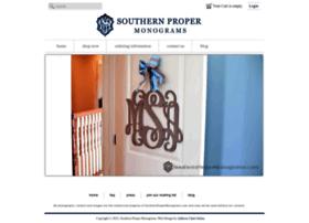 southernpropermonograms.com