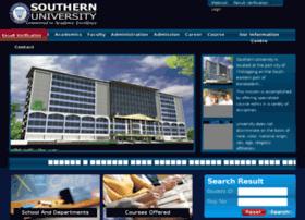 southernuniversitybd.com