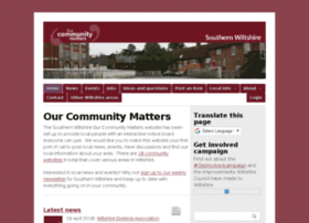 southernwilts.ourcommunitymatters.org.uk