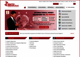 southindianbank.com