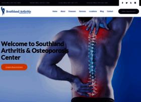 southlandarthritis.com