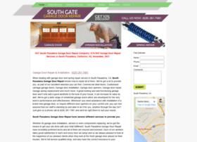 southpasadenagaragedoors.com