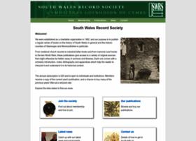southwalesrecordsociety.co.uk