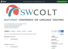 southwestconferenceonlangua2015.sched.org