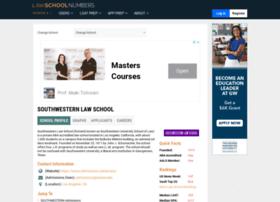 southwestern.lawschoolnumbers.com