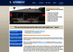 southwestsunscreens.com