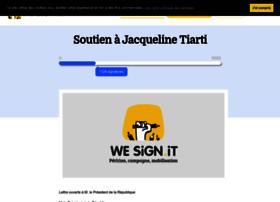 soutienajacquelinetiarti.wesign.it
