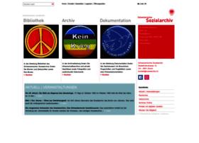 sozialarchiv.ch