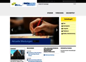 soziologie.rwth-aachen.de