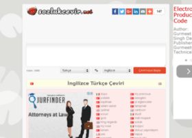sozlukcevir.net