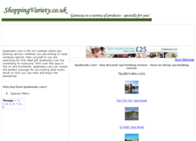 spa-booking-service.shoppingvariety.co.uk