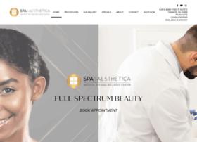 spaaesthetica.com