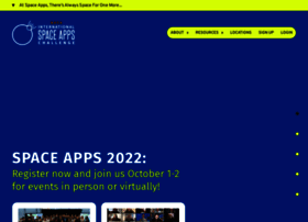 spaceappschallenge.org