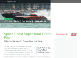 spacecoastsuperboatgrandprix.com